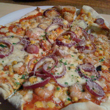 Slim Jims Pizza