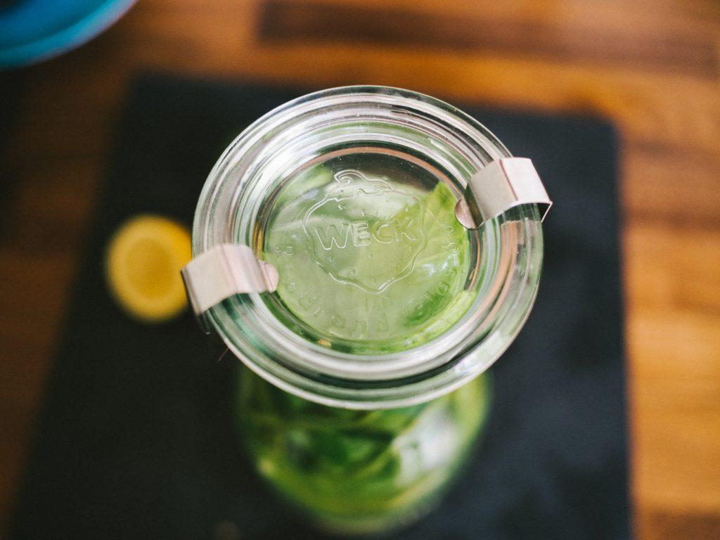 Ingwer Limetten Limo