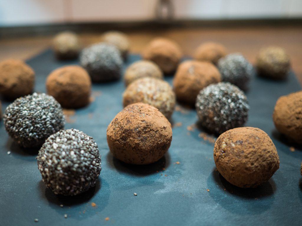 Chia Kakao Energyballs