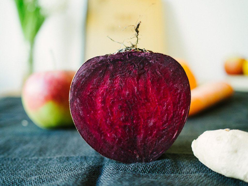 Apfel-Rote Beete Saft