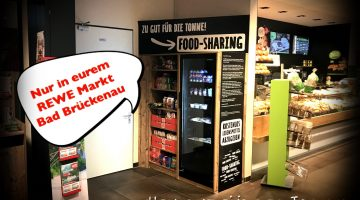 Food Sharing Supermarkt