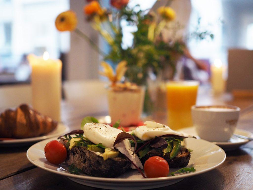 Frühstück in Hamburg