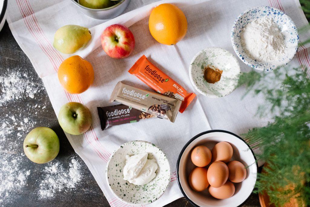 Pancakes mit Foodlose Riegel