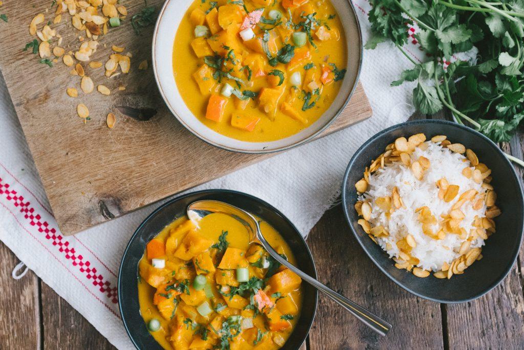 Kitchen Guerilla x M2S Kuerbis Curry Rezept