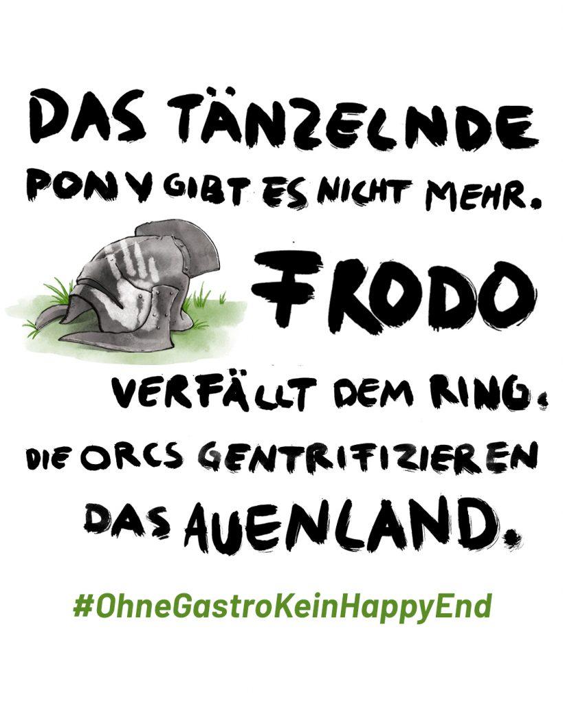 Ohne Gastro Kein Happy End